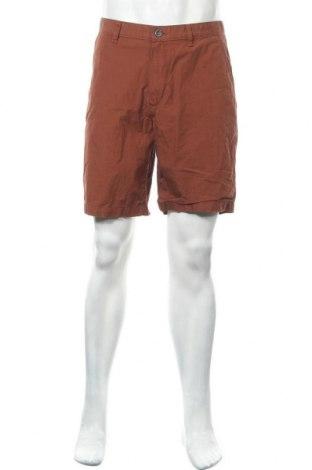 Мъжки къс панталон Eddie Bauer, Размер M, Цвят Кафяв, Памук, Цена 27,30лв.