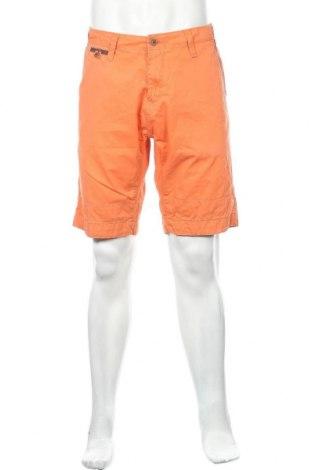 Мъжки къс панталон Garcia Jeans, Размер XL, Цвят Оранжев, Памук, Цена 23,10лв.