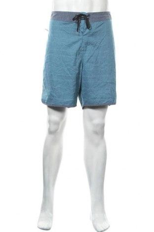 Мъжки къс панталон Hurley, Размер L, Цвят Син, 86% полиестер, 14% еластан, Цена 30,35лв.
