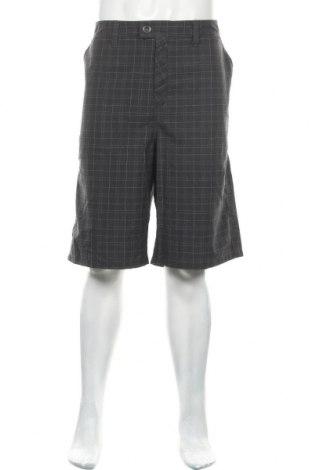 Мъжки къс панталон Hurley, Размер XXL, Цвят Сив, 65% полиестер, 35% вискоза, Цена 27,93лв.