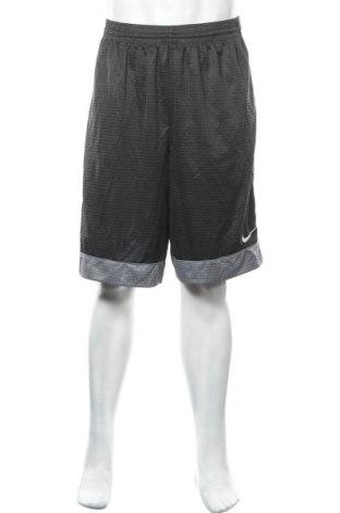 Мъжки къс панталон Nike, Размер XL, Цвят Сив, Полиестер, Цена 35,70лв.