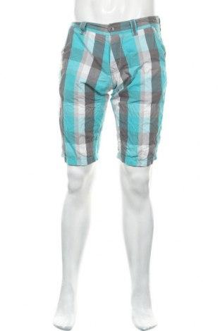Мъжки къс панталон Q/S by S.Oliver, Размер M, Цвят Син, Памук, Цена 14,96лв.
