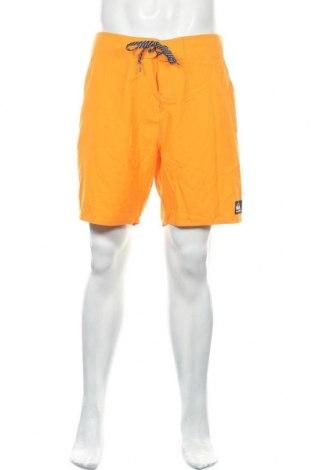 Ανδρικό κοντό παντελόνι Quiksilver, Μέγεθος L, Χρώμα Πορτοκαλί, Πολυεστέρας, Τιμή 16,05€