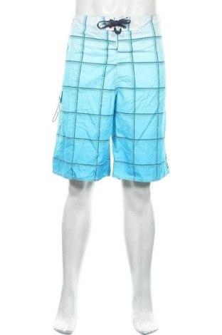 Ανδρικό κοντό παντελόνι Quiksilver, Μέγεθος XXL, Χρώμα Μπλέ, Πολυεστέρας, Τιμή 7,40€