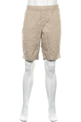 Мъжки къс панталон Uniqlo, Размер XL, Цвят Бежов, 67% памук, 23% полиестер, Цена 11,34лв.