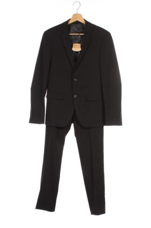 Ανδρικό κοστούμι Lindbergh, Μέγεθος XS, Χρώμα Μαύρο, Πολυεστέρας, Τιμή 49,28€
