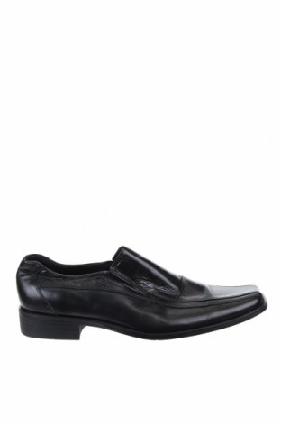 Мъжки обувки, Размер 39, Цвят Черен, Естествена кожа, Цена 32,55лв.