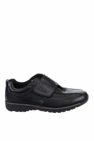Мъжки обувки, Размер 45, Цвят Черен, Естествена кожа, Цена 65,10лв.
