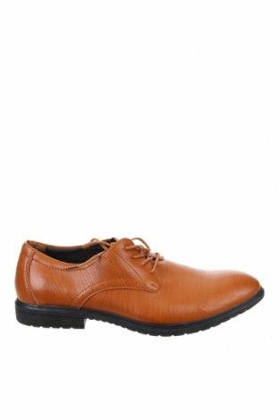 Мъжки обувки, Размер 42, Цвят Кафяв, Естествена кожа, Цена 50,40лв.