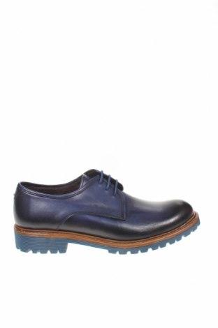 Мъжки обувки, Размер 44, Цвят Син, Естествена кожа, Цена 81,75лв.