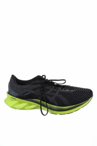 Мъжки обувки ASICS, Размер 48, Цвят Черен, Текстил, Цена 126,75лв.