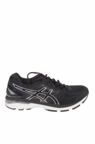 Ανδρικά παπούτσια ASICS, Μέγεθος 41, Χρώμα Μαύρο, Κλωστοϋφαντουργικά προϊόντα, δερματίνη, Τιμή 57,60€