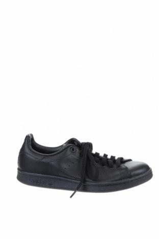 Мъжки обувки Adidas & Stan Smith, Размер 40, Цвят Черен, Естествена кожа, Цена 65,10лв.