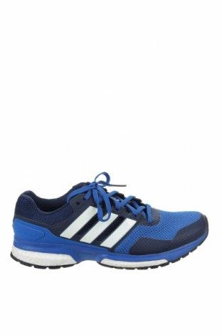 Ανδρικά παπούτσια Adidas, Μέγεθος 42, Χρώμα Μπλέ, Κλωστοϋφαντουργικά προϊόντα, Τιμή 31,82€