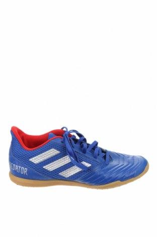 Ανδρικά παπούτσια Adidas, Μέγεθος 39, Χρώμα Μπλέ, Δερματίνη, κλωστοϋφαντουργικά προϊόντα, Τιμή 33,90€
