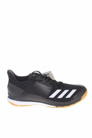 Мъжки обувки Adidas, Размер 45, Цвят Черен, Текстил, полиуретан, Цена 134,25лв.