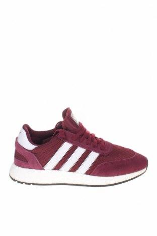 Ανδρικά παπούτσια Adidas Originals, Μέγεθος 44, Χρώμα Κόκκινο, Φυσικό σουέτ, κλωστοϋφαντουργικά προϊόντα, γνήσιο δέρμα, Τιμή 73,07€