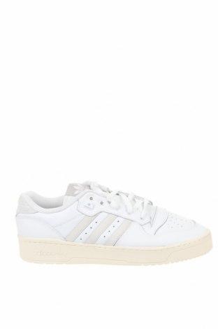 Мъжки обувки Adidas Originals, Размер 48, Цвят Бял, Естествена кожа, Цена 129,00лв.
