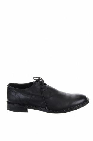 Ανδρικά παπούτσια Antony Morato, Μέγεθος 45, Χρώμα Μαύρο, Γνήσιο δέρμα, Τιμή 67,73€