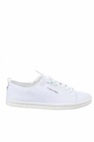 Мъжки обувки Calvin Klein, Размер 41, Цвят Бял, Текстил, Цена 126,75лв.