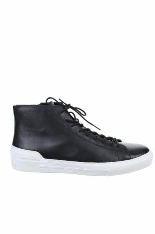 Мъжки обувки Calvin Klein, Размер 44, Цвят Черен, Естествена кожа, Цена 156,75лв.