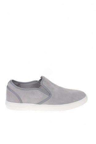 Мъжки обувки Clarks, Размер 41, Цвят Сив, Естествен велур, Цена 141,75лв.