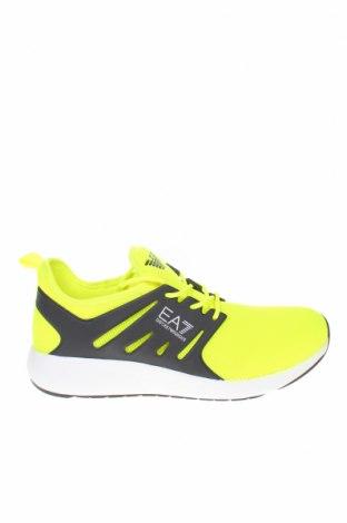 Ανδρικά παπούτσια Emporio Armani, Μέγεθος 44, Χρώμα Πράσινο, Κλωστοϋφαντουργικά προϊόντα, Τιμή 142,66€
