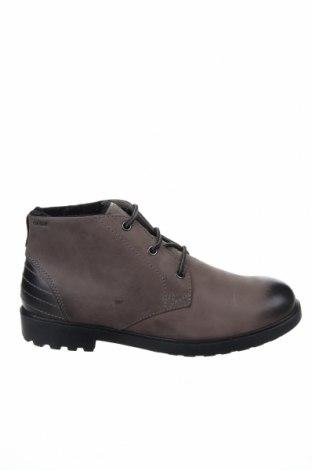 Мъжки обувки Geox, Размер 40, Цвят Сив, Естествена кожа, Цена 186,75лв.