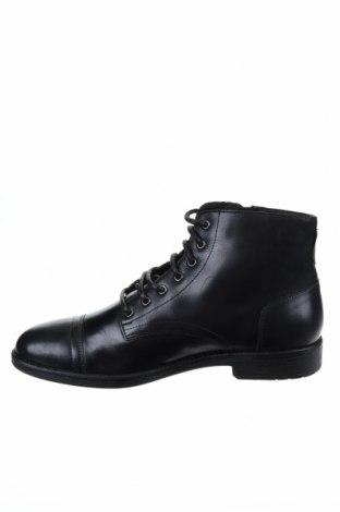 Мъжки обувки Geox, Размер 42, Цвят Черен, Естествена кожа, Цена 194,25лв.