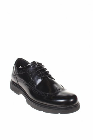 Мъжки обувки Geox, Размер 40, Цвят Черен, Естествена кожа, Цена 141,75лв.