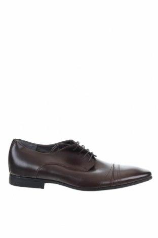 Мъжки обувки Julius Marlow, Размер 43, Цвят Кафяв, Естествена кожа, Цена 61,43лв.