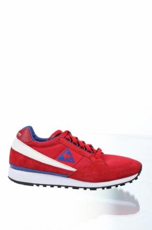 Мъжки обувки Le Coq Sportif, Размер 43, Цвят Червен, Естествен велур, текстил, еко кожа, Цена 61,50лв.