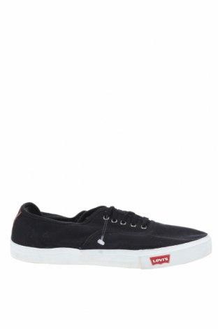 Мъжки обувки Levi's, Размер 47, Цвят Черен, Текстил, Цена 43,47лв.
