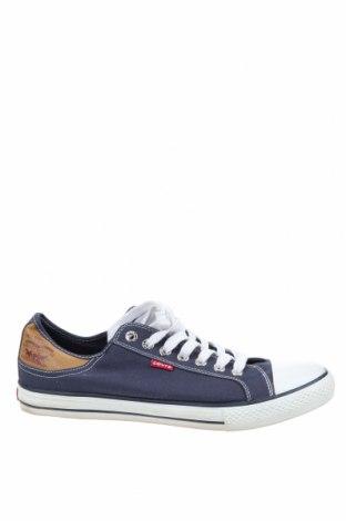 Мъжки обувки Levi's, Размер 46, Цвят Син, Текстил, Цена 45,36лв.