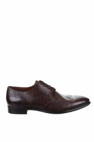 Мъжки обувки Lottusse, Размер 44, Цвят Кафяв, Естествена кожа, Цена 96,14лв.