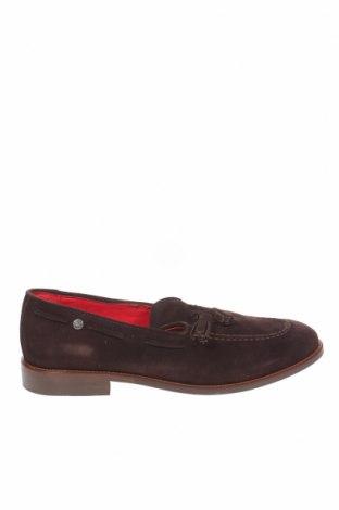 Мъжки обувки Makarthy, Размер 42, Цвят Кафяв, Естествен велур, Цена 119,25лв.