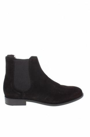 Мъжки обувки Mango, Размер 44, Цвят Черен, Естествен велур, Цена 96,75лв.