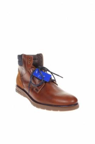 Мъжки обувки Miguel Infantes, Размер 45, Цвят Кафяв, Естествена кожа, Цена 77,74лв.
