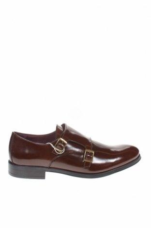 Мъжки обувки Miguel Infantes, Размер 43, Цвят Кафяв, Естествена кожа, Цена 72,00лв.