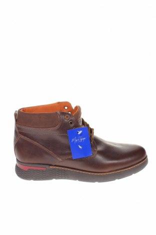 Ανδρικά παπούτσια Miguel Infantes, Μέγεθος 42, Χρώμα Καφέ, Γνήσιο δέρμα, Τιμή 37,42€