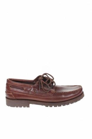 Мъжки обувки Mo, Размер 44, Цвят Кафяв, Естествена кожа, Цена 81,75лв.
