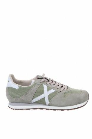 Мъжки обувки Munich, Размер 45, Цвят Зелен, Естествен велур, текстил, Цена 119,25лв.