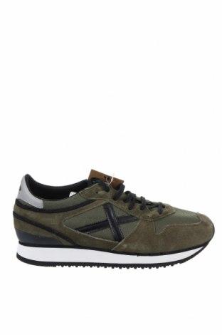 Мъжки обувки Munich, Размер 41, Цвят Зелен, Естествен велур, текстил, Цена 119,25лв.