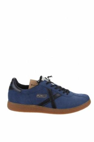 Мъжки обувки Munich, Размер 42, Цвят Син, Естествен велур, естествена кожа, Цена 104,25лв.