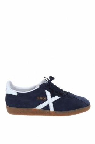 Мъжки обувки Munich, Размер 46, Цвят Син, Естествен велур, естествена кожа, Цена 104,25лв.