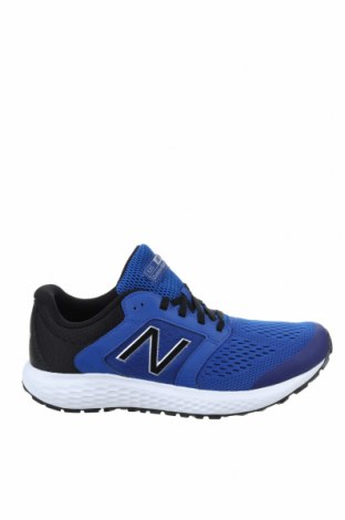Мъжки обувки New Balance, Размер 44, Цвят Син, Текстил, Цена 126,75лв.