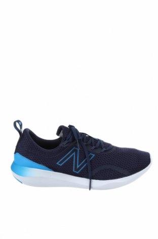 Ανδρικά παπούτσια New Balance, Μέγεθος 44, Χρώμα Μπλέ, Κλωστοϋφαντουργικά προϊόντα, Τιμή 65,33€