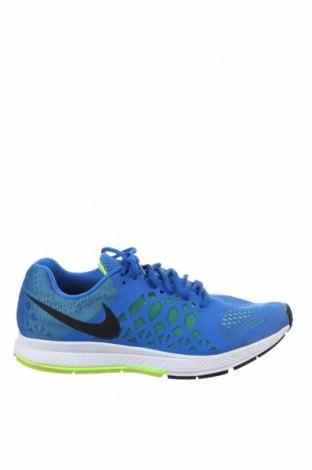 Ανδρικά παπούτσια Nike, Μέγεθος 44, Χρώμα Μπλέ, Κλωστοϋφαντουργικά προϊόντα, Τιμή 33,12€