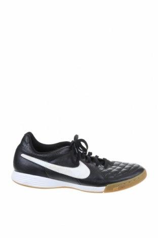 Мъжки обувки Nike, Размер 41, Цвят Черен, Естествена кожа, еко кожа, Цена 54,60лв.