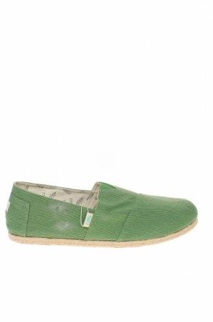 Мъжки обувки Paez, Размер 46, Цвят Зелен, Текстил, Цена 49,92лв.
